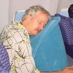 SkyRest Inflatable Travel Sleep Pillow